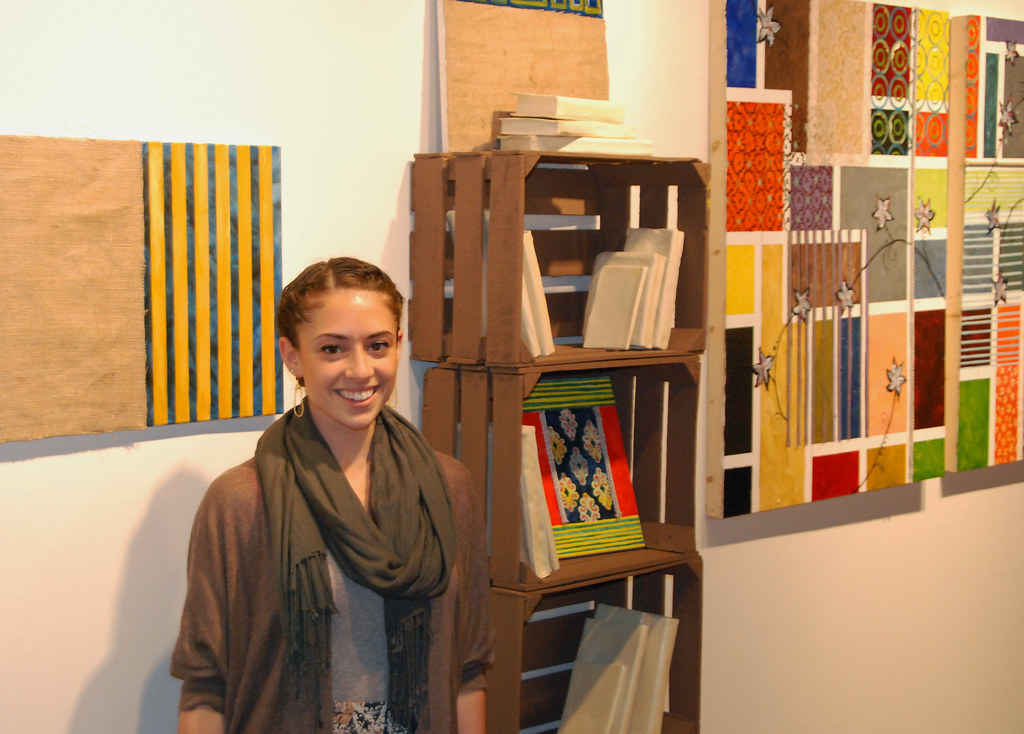Each spring, senior studio art majors exhibit their best work in Schmucker Art Gallery as part of their capstone experience.