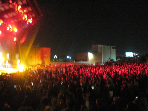 the outdoor venue (by: Michael Kuhn, creative commons license)