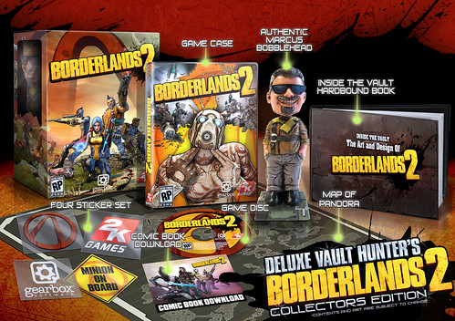 Borderlands 2 PS3 Deluxe Vault