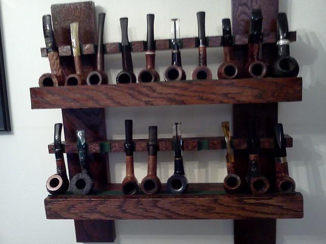 Pipe rack I built 7224018864_ca2c649ddf_z