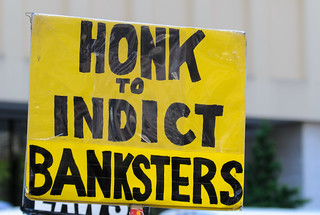 Honk to Indict Banksters