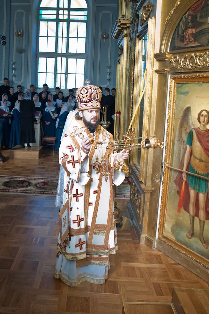 Ректор СПбПДА, епископ Амвросий