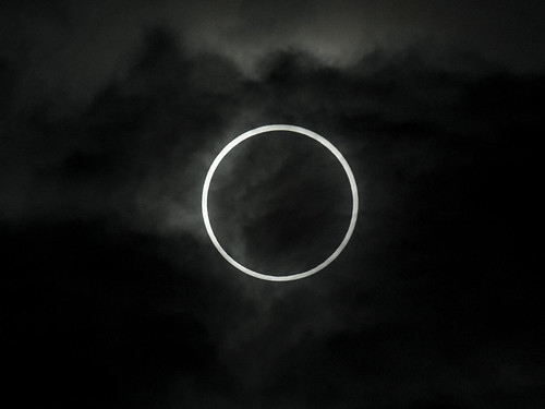 Annular Eclipse <trimming> (Matsudo, Chiba, Japan)