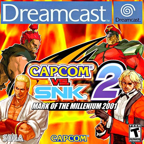 Capcom VS SNK Mark Of The Millenium 2001 (PAL) Villians by dcFanatic34