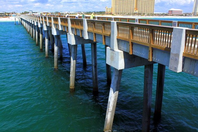 panama city beach fishing pier most of the people you