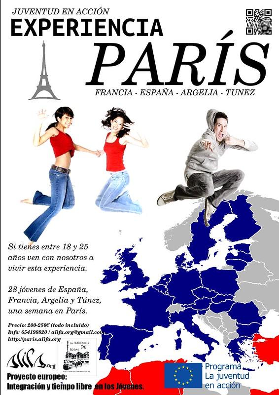 cartel Juventud en Acción 2012 Paris