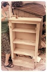 shelf, furniture, wood,