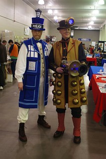 TARDIS and Dalek #1