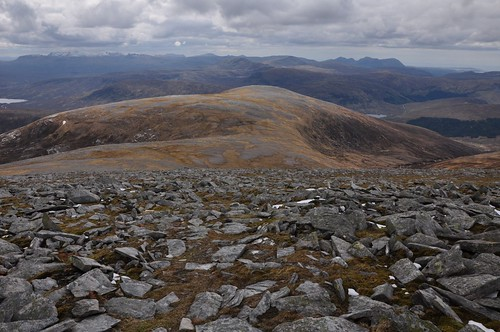 Meallan Liath Mor from Ben Hee