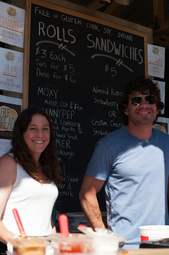 Karen Freer and Gabriel Davis of Free Bread Inc. at Googa Mooga