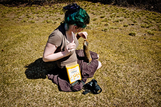 365: 2012/05/15 - the best use for cheese crackers: to buy the eternal love of prairie dogs