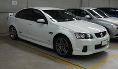 pontiac g8(0.0), coupã©(0.0), sports car(0.0), automobile(1.0), automotive exterior(1.0), holden ve commodore(1.0), wheel(1.0), vehicle(1.0), rim(1.0), full-size car(1.0), compact car(1.0), bumper(1.0), sedan(1.0), land vehicle(1.0), luxury vehicle(1.0),