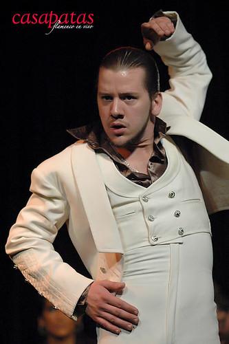 El bailaor José Maldonado. Foto: Martín Guerrero