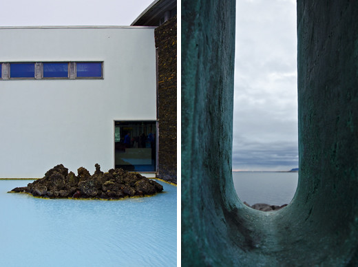 Iceland – Blue lagoon and Saebraut, Reykjavik