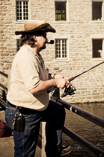 Charlie the fisherman