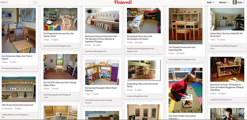 Montessori Homeschool Classrooms Pinterest Board