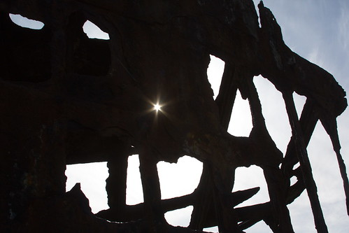 Starburst in the Peter Iredale by The Bacher Family