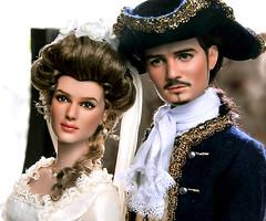 Will Turner and Elizabeth Swan: Groom & Bride, Tonner Repaint