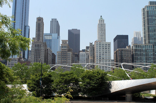 Downtown from Millenium Park