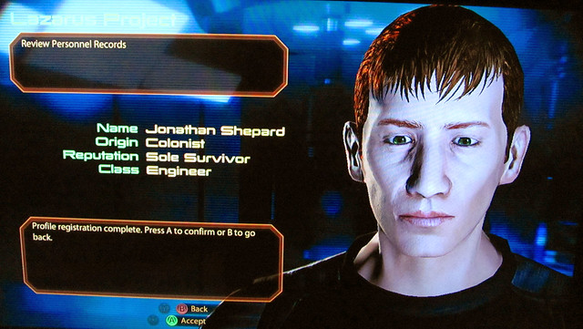 Jonathan Cope in Mass Effect 2