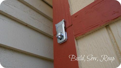 Shed Lumber loft lock