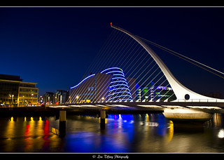 Dublin After Dark (16)  (Samuel Beckett Bridge)