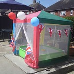 Jubilee party for back garden fegg Hayes