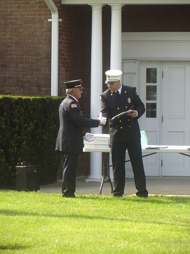 award to veteran firefighter