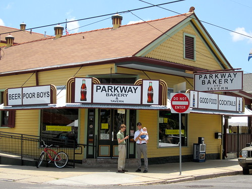 Parkway Bakery. Photo by Melanie Merz.