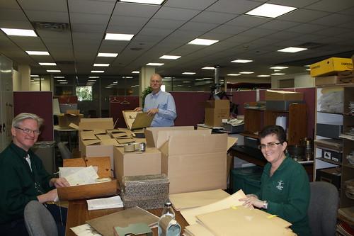 Herbarium Staff Receives Donation