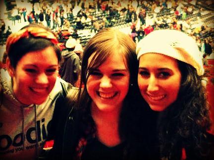 Anna, Sophia, Megan
