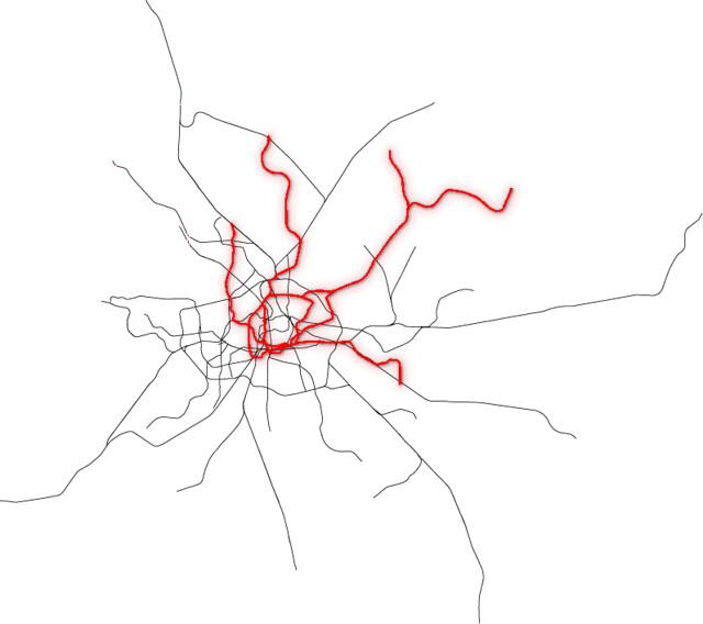 U-Bahn Netze Hamburg und Berlin