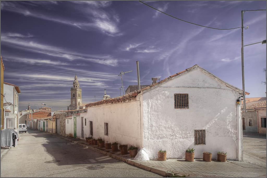 Casa con Macetas - Nava del Rey (Valladolid)