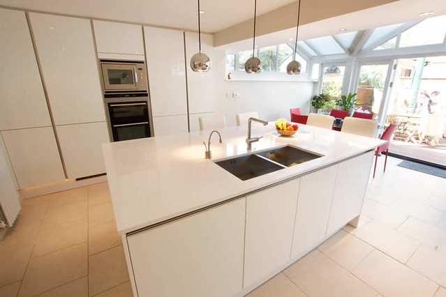 High Gloss Kitchen Doors Handleless
