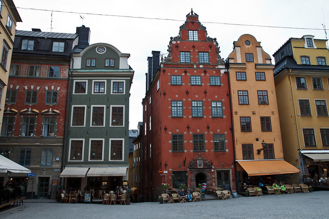Stockholm. Stortorget - The Great Square
