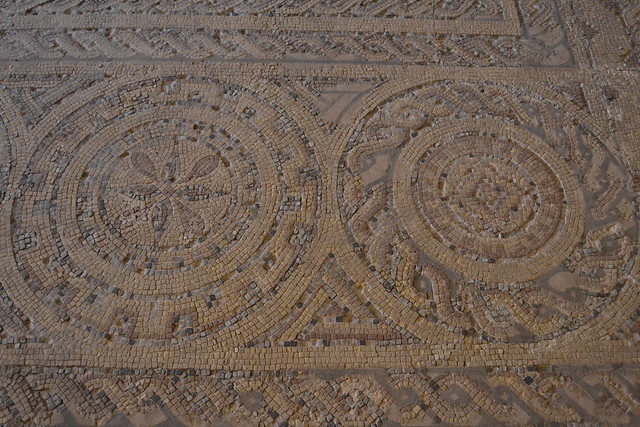 Mosaico romano geom trico flickr photo sharing for Mosaico romano