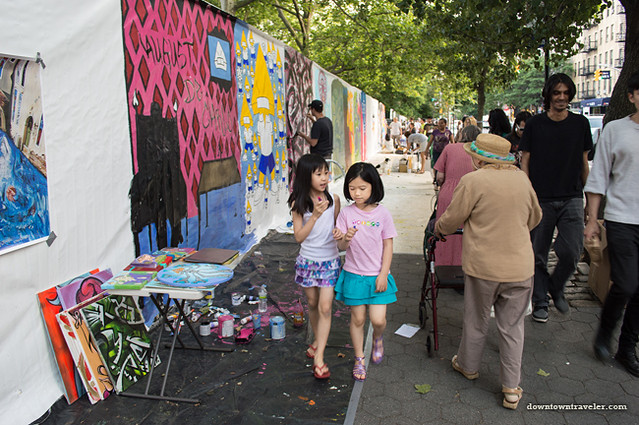 Street murals at NYC Howl Festival 05