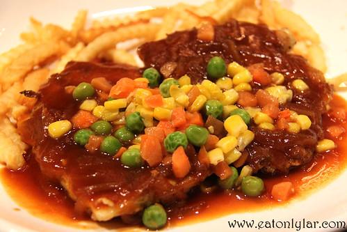 Hainanese Pork Chops, S.Wine Café