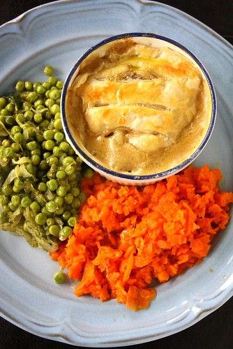 Chicken Pot Pie Dinner with Jamie Oliver