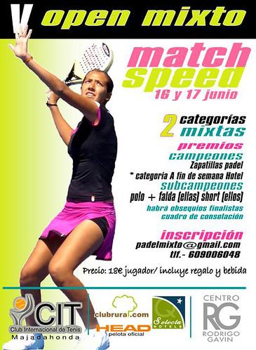 Torneo Padel 5º mixto 16 y 17 junio Internacional