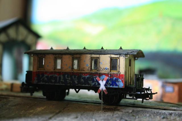 ein alter Wagon