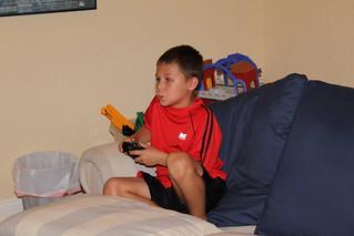 Kaleb doing what Kaleb does 2