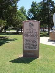U S S Oklahoma Anchor Marker - OKC