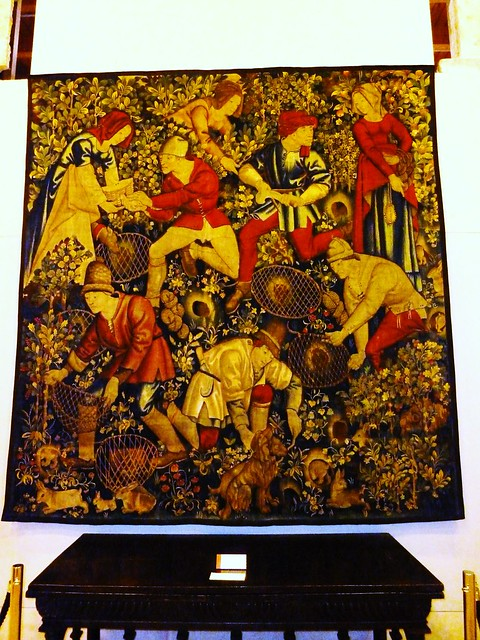 Tapestry, Peasants Hunting Rabbits