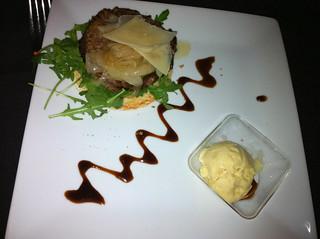 Hamburguesa de pato