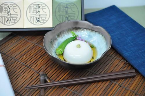 ぐるなびお中元 試食会 胡麻豆腐専門店 千屋