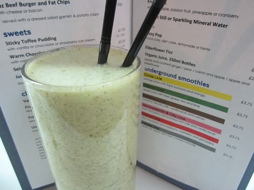 District Line smoothie at LTM cafe