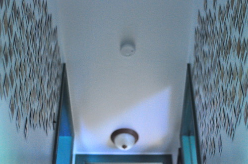 the polaroid stairwell