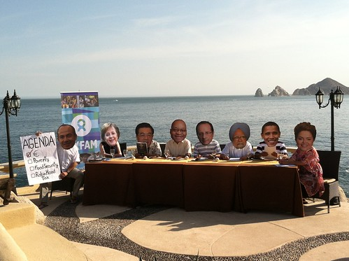 G20 Leaders Have a Working Lunch in Los Cabos
