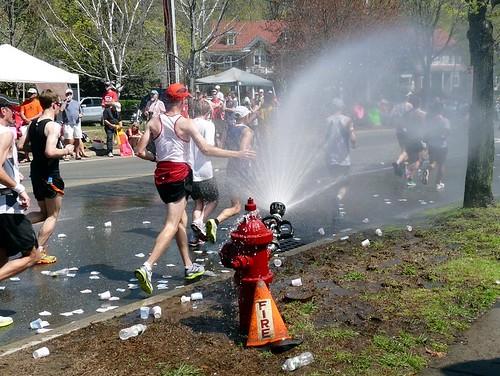 hidratacion maraton boston 2012